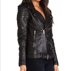 BLK DNM leather jacket.